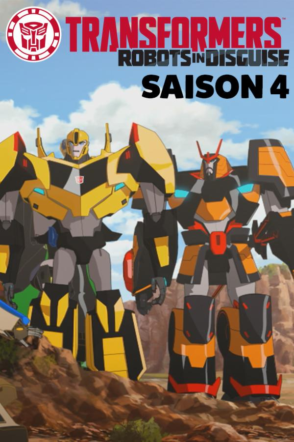 Transformers : Robots in Disguise Saison 4 streaming